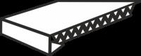 Подоконники ПВХ Люкс