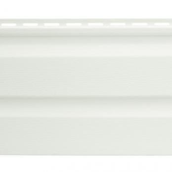 Сайдинг панель виниловая белая