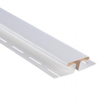 Планка соединительная Альта-Профиль Т-18 3,05 м, белая