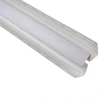 Сайдинг угол внутренний Альта профиль Т-13 3,05 м, белый