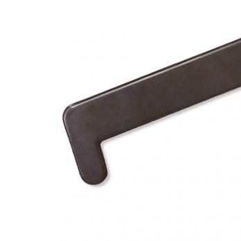 Накладка на подоконник Кристаллит 700 мм махагон