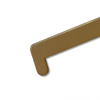 Заглушка для подоконника Кристаллит 700 мм золотой дуб