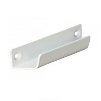 Ручка балконная алюминиевая белая