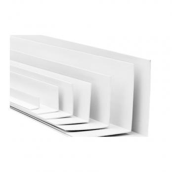 Уголок ПВХ 20*20 мм белый